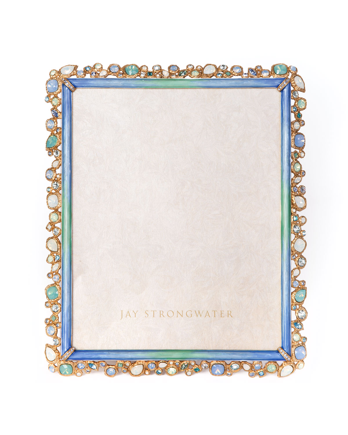 """Jay Strongwater Picture frames OCEANA BEJEWELED PICTURE FRAME, 8"""" X 10"""""""