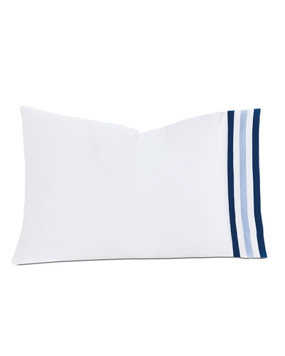 Eastern Accents Watermill Indigo Queen Pillow