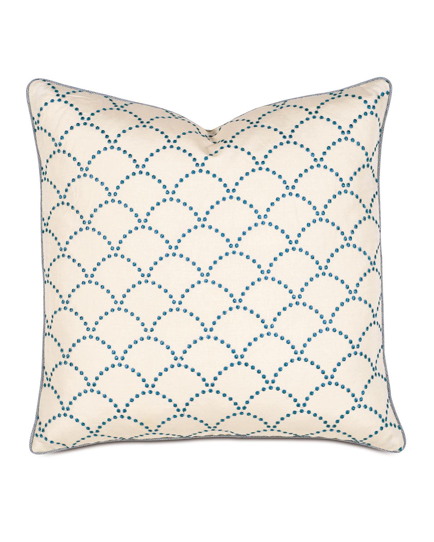 Charleston Decorative Square Pillow