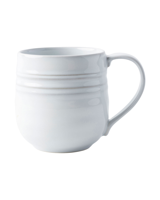 Juliska Drinkwares BILBAO WHITE TRUFFLE COFFEE CUP