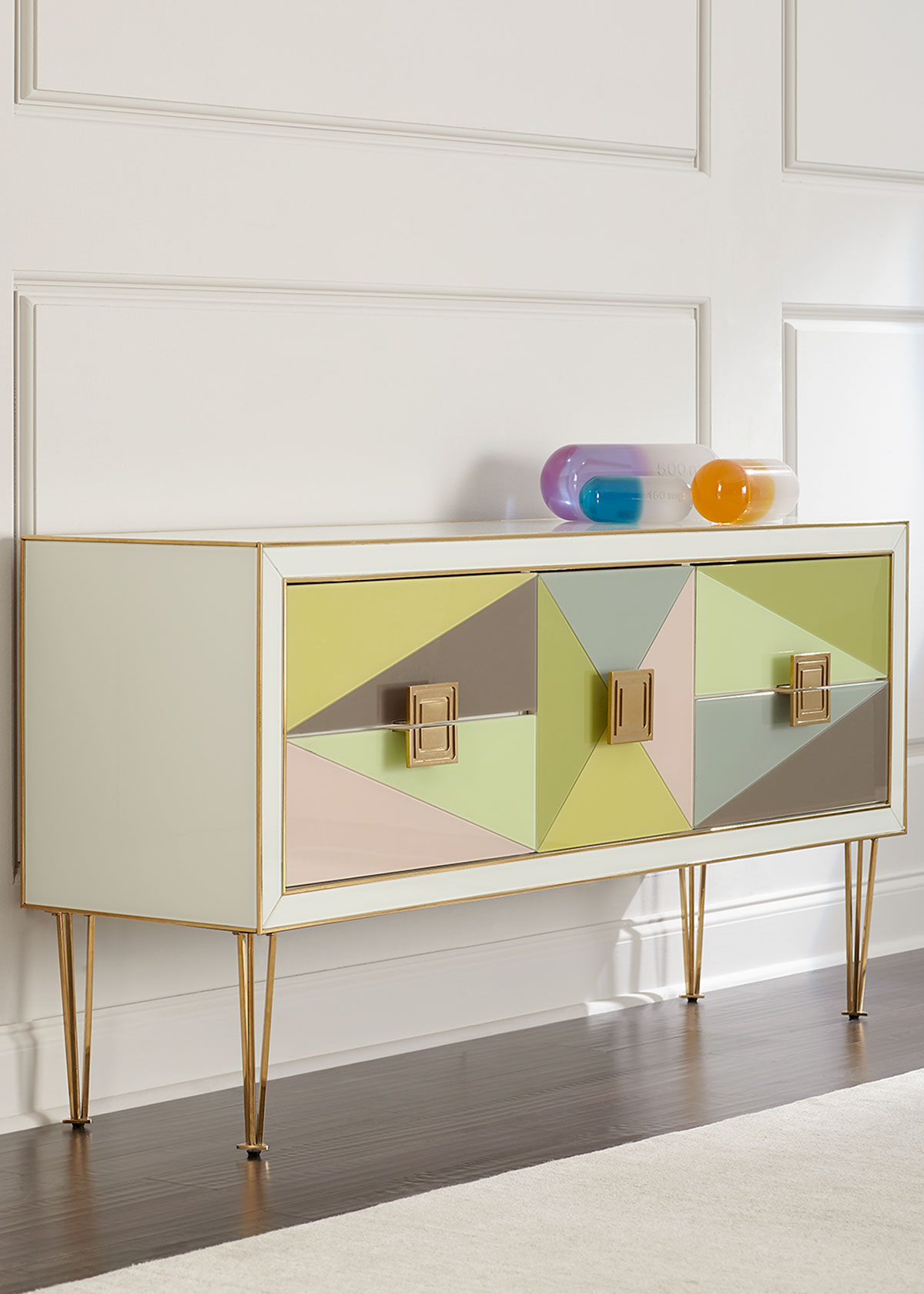 Jonathan Adler Clothing HARLEQUIN CONSOLE
