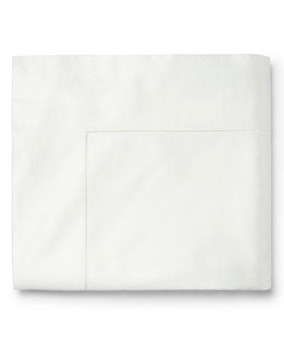 Luminous Sateen King Flat Sheet