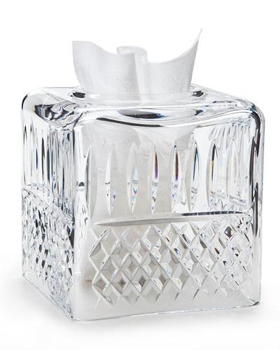 Marie Clear Tissue Box Cover