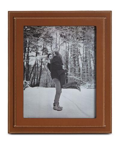 Brennan Picture Frame, Saddle, 8