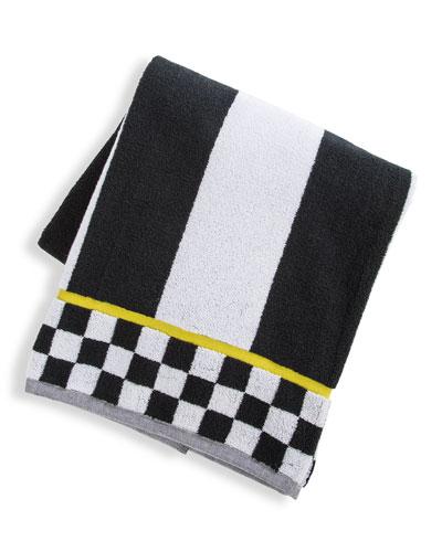 Courtly Stripe Bath Towel