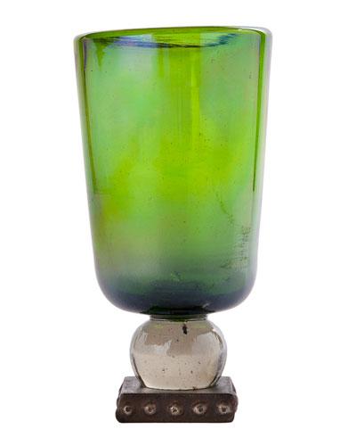 Jan Barboglio Ramo Oversize Goblet, Green