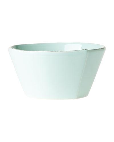 Lastra Stacking Cereal Bowl, Aqua