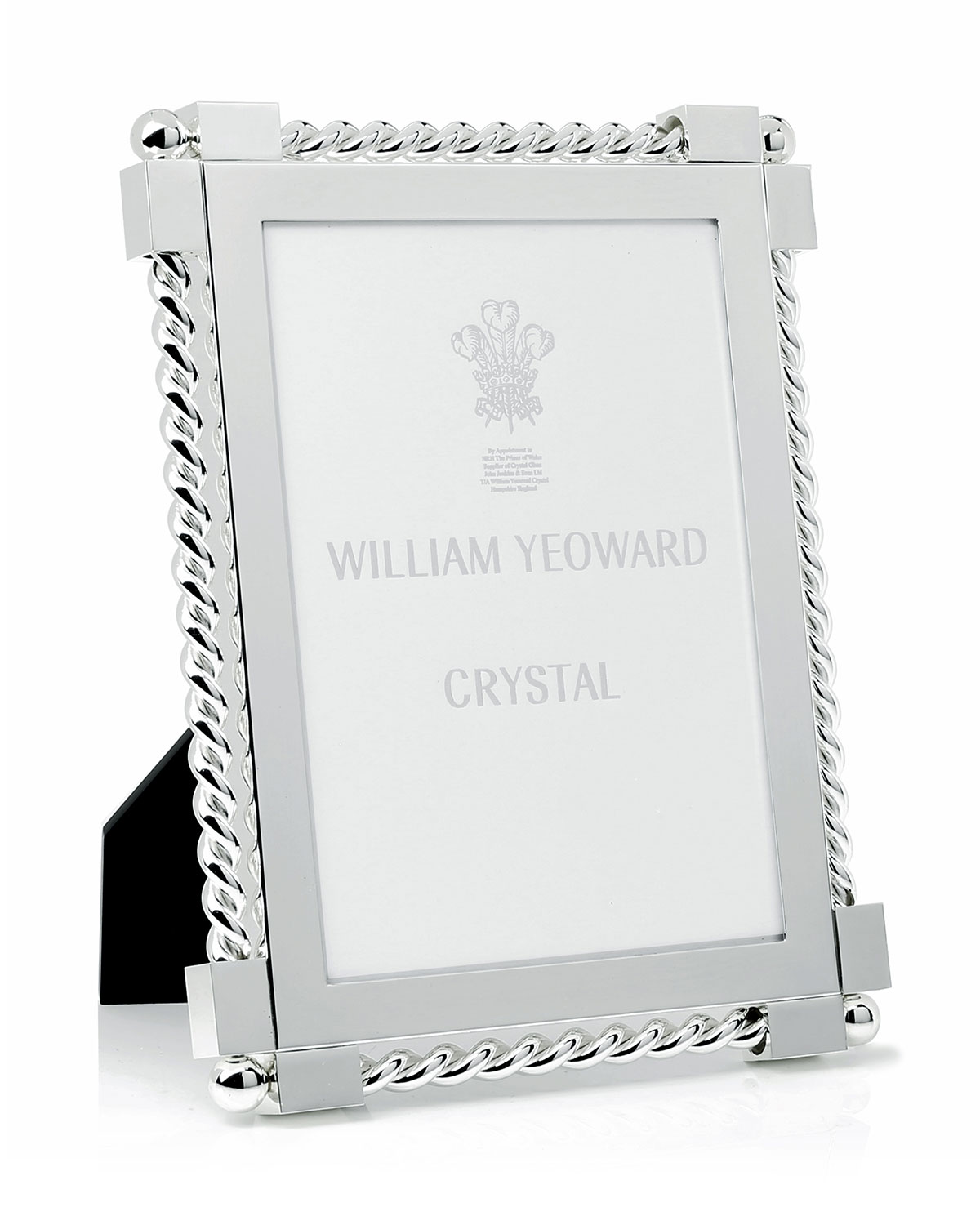 "William Yeoward Picture frames SILVER TWIST PICTURE FRAME, 5"" X 7"""