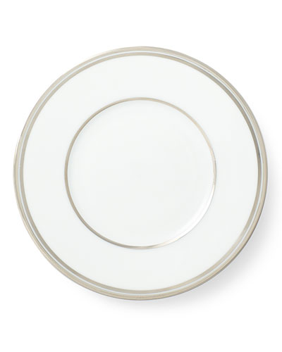 Wilshire Bread and Butter Plate, Platinum