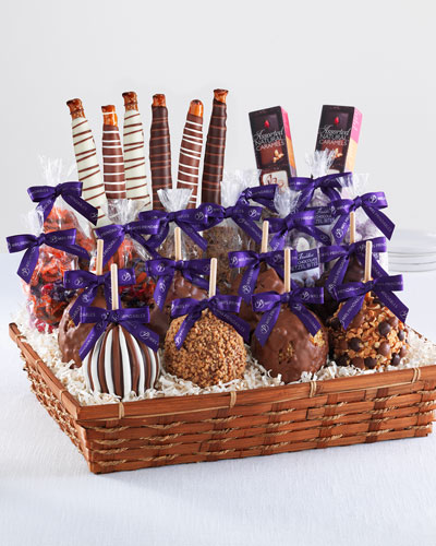 Mrs Prindable's Indulgent Caramel Apple Gift Basket