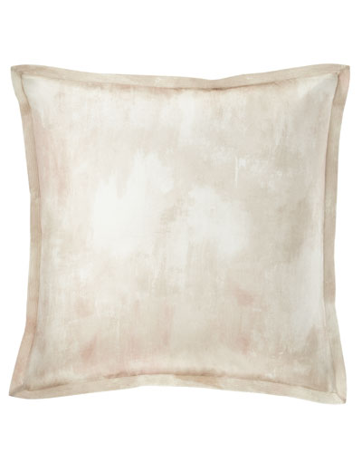Textured Silk European Sham