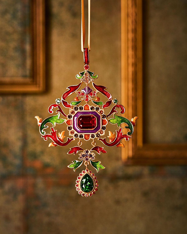 2018 Annual Metal Christmas Ornament