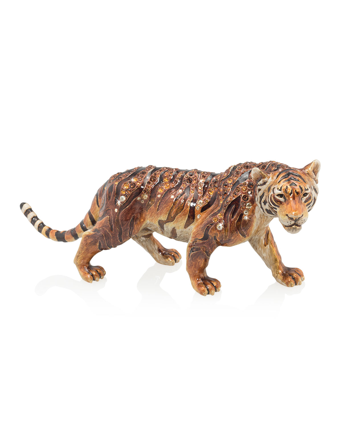 Jay Strongwater Arts TIGER FIGURINE