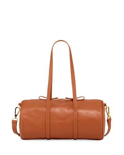 Calf Leather Mini Duffel Bag