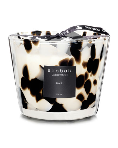 Black Pearls Scented Candle, 3.9