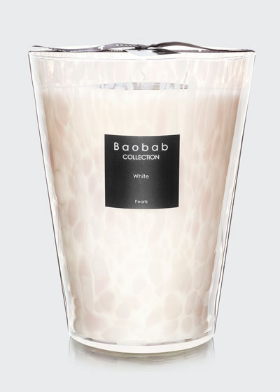 White Pearls Candle, 9.4