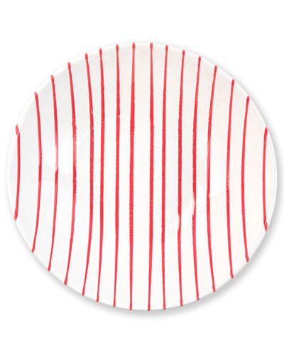 Striped Medium Serving Bowl