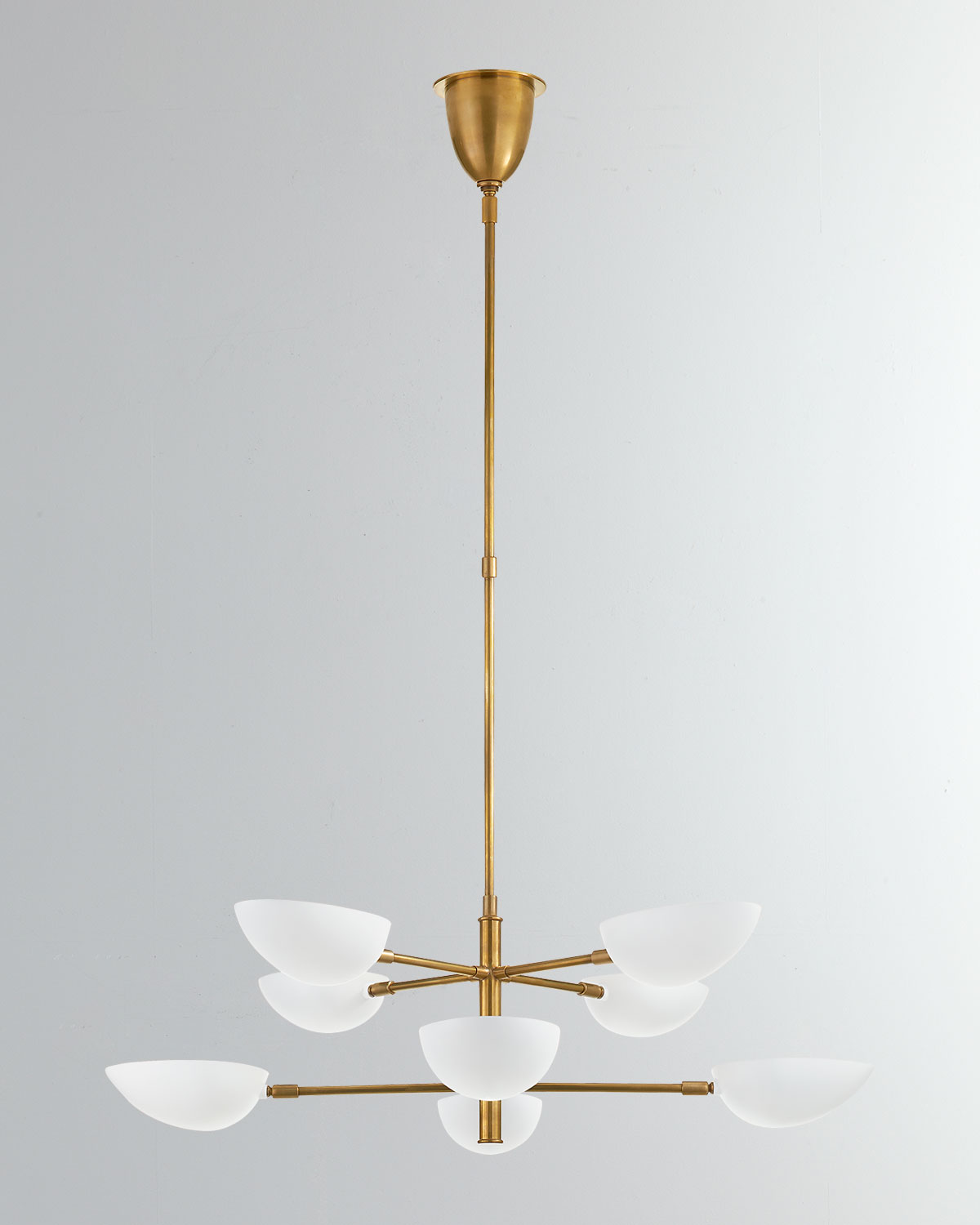 Aerin Clothing GRAPHIC LARGE TWO-TIER CHANDELIER