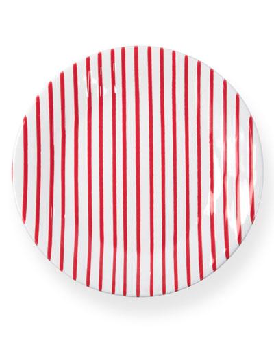 Striped Dinner Plate