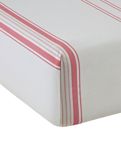 Babylone 200 Thread-Count King Fitted Sheet
