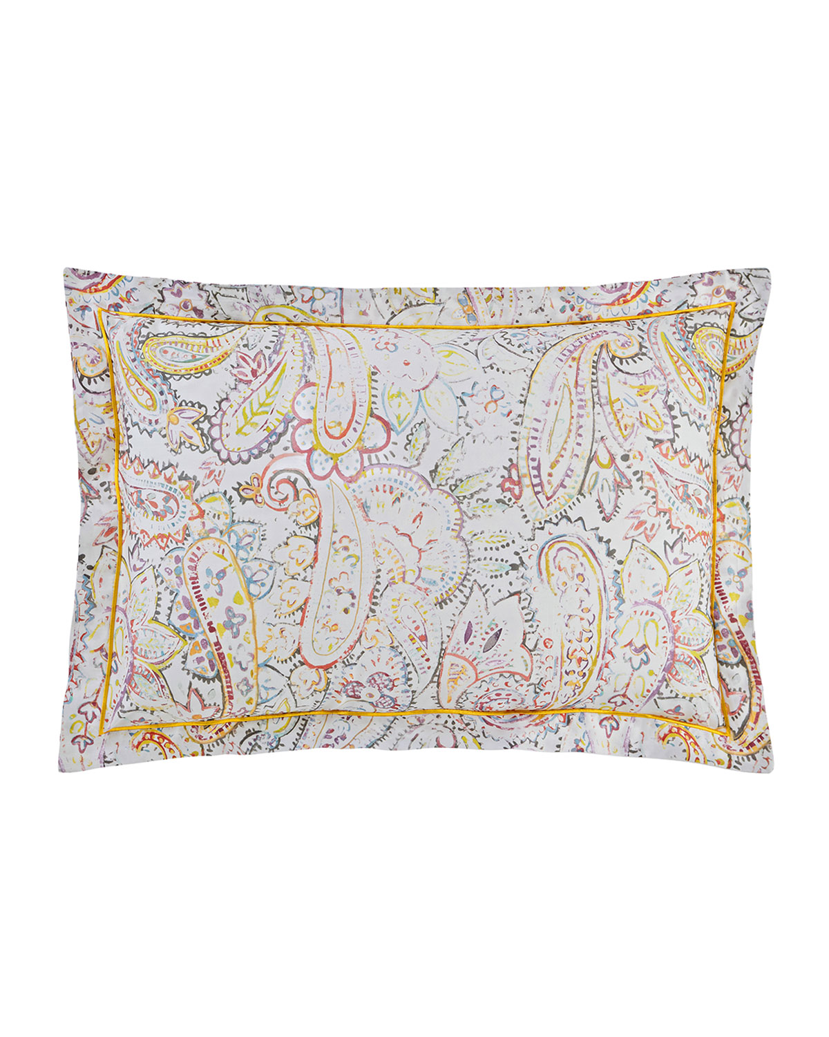 ANNE DE SOLENE Anahita 300 Thread-Count Standard Sham in Multi