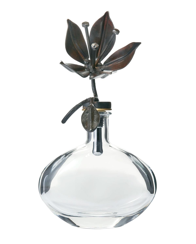Jan Barboglio Barware & accessorys PASSION FLOWER DECANTER