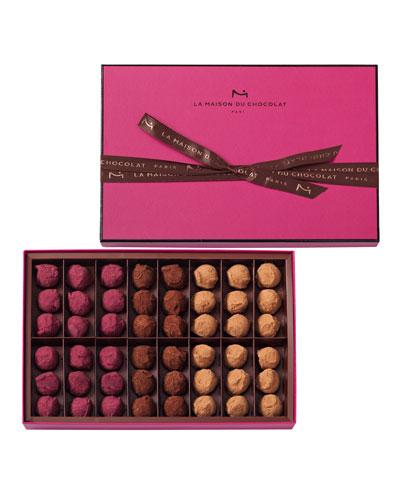 La Maison Du Chocolat 48-Piece Flavored Truffles Box
