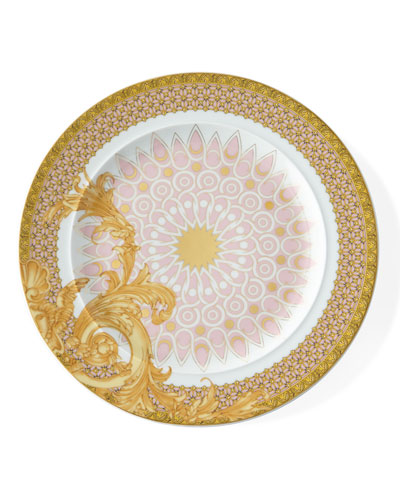 Versace 2010 Les Reves Byzantis Dessert Plate
