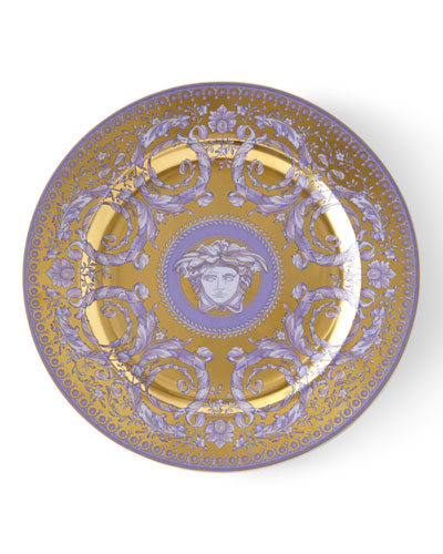 Versace 2011 Le Grand Divertissment Gold Dessert Plate