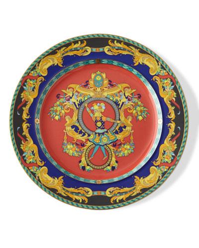 Versace 1993 Le Roi Soleil Dessert Plate