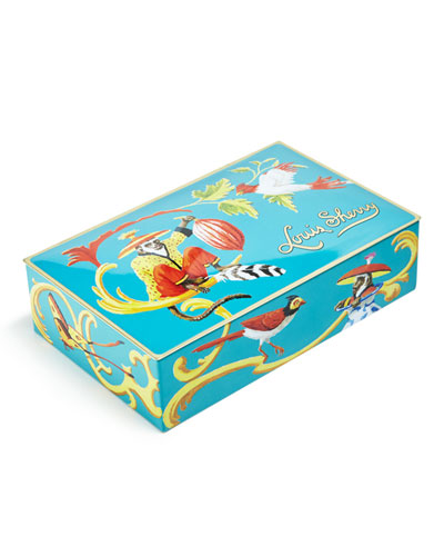 Singerie Teal 12-Piece Assorted Chocolate Truffle Tin