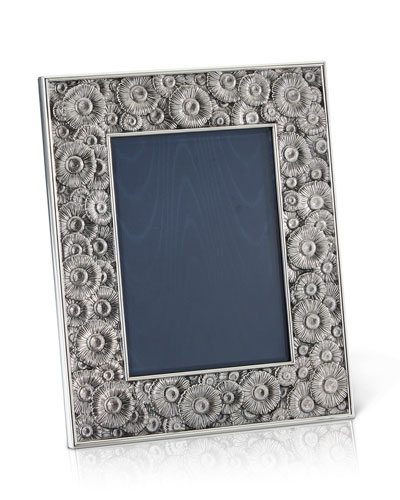 Daisy Silver & Leather Picture Frame, 4
