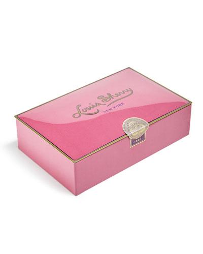 Louis Sherry Draper Pink 12-Piece Assorted Chocolate Truffle
