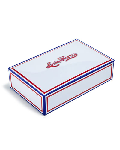 Louis Sherry Patriot 12-Piece Assorted Chocolate Truffle Tin