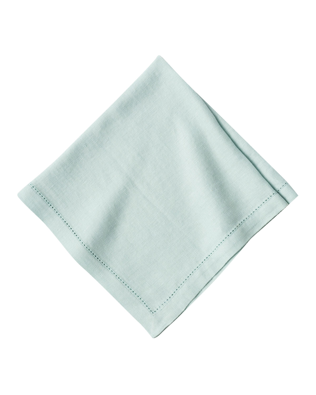 Juliska Clothing HEIRLOOM LINEN NAPKIN, ICE BLUE