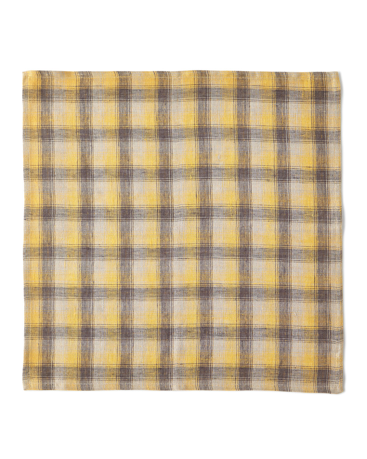 Deborah Rhodes Clothing REVERSIBLE CHECK NAPKIN