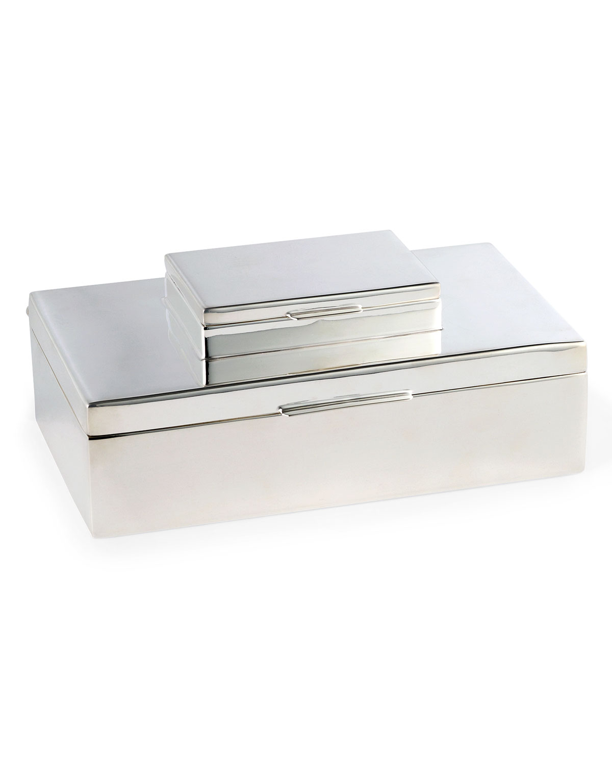 Ralph Lauren Home Clothing BECKBURY STACKED SILVER BOX