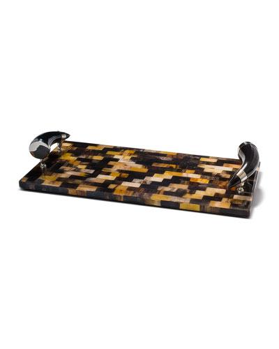 Horn Veneer Large Serving Board
