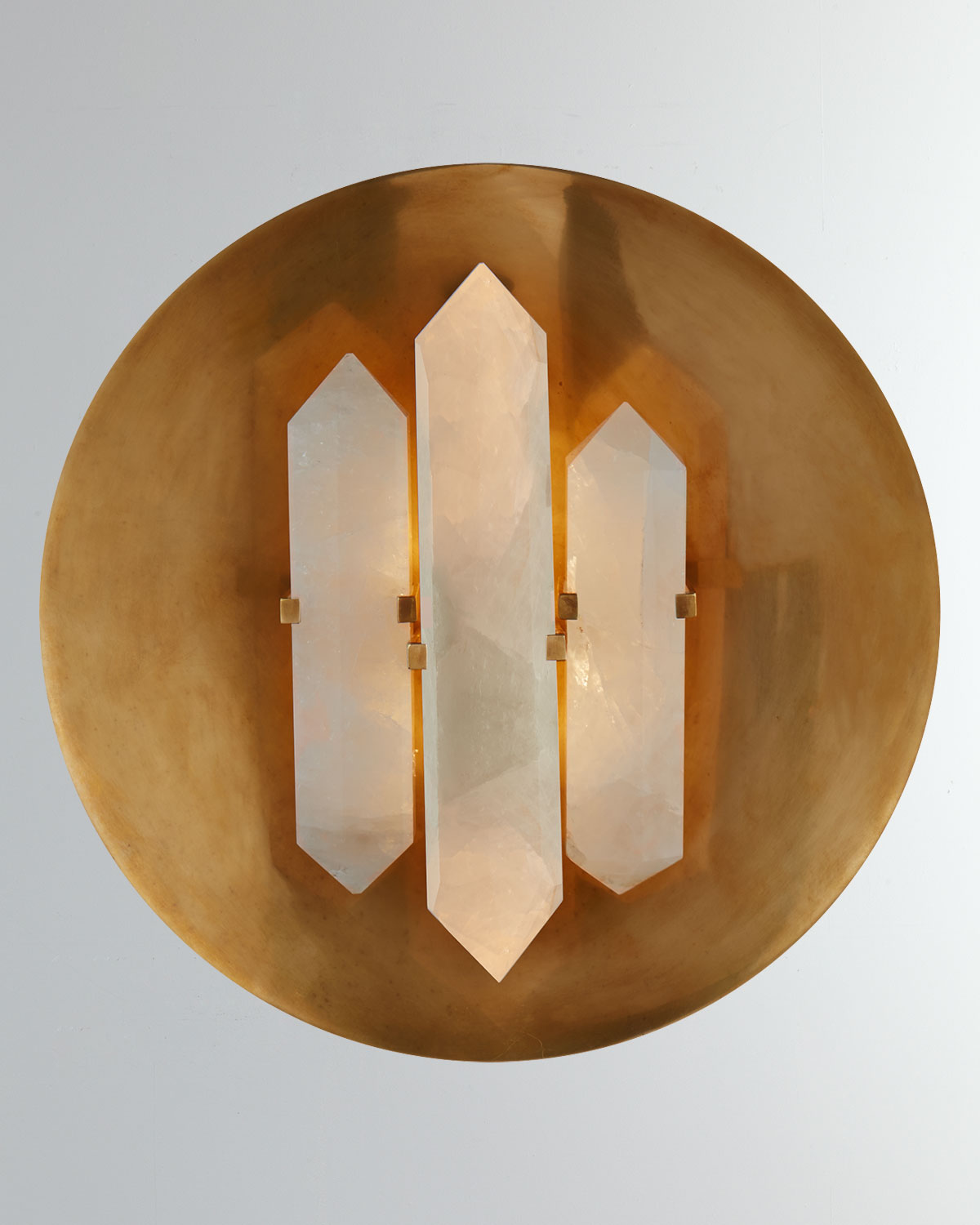 Kelly Wearstler Clothing HALCYON ROUND SCONCE
