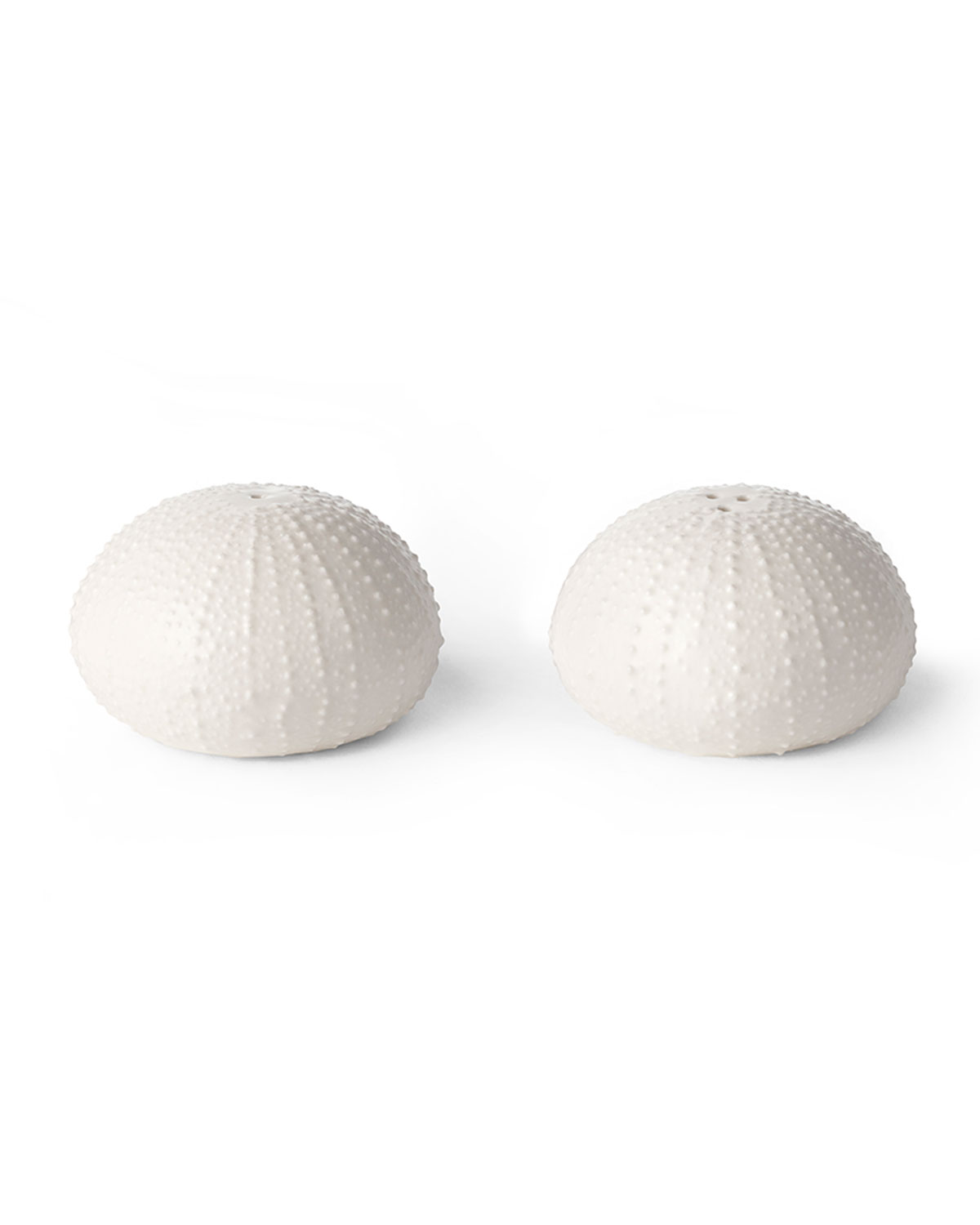 Aerin Kitchen & dinings CERAMIC SEA URCHIN SALT AND PEPPER SHAKERS