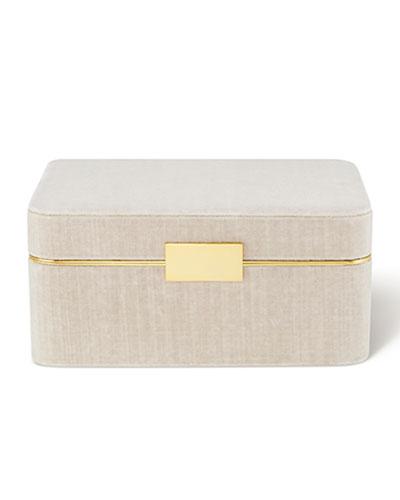 Beauvais Velvet Jewelry Box