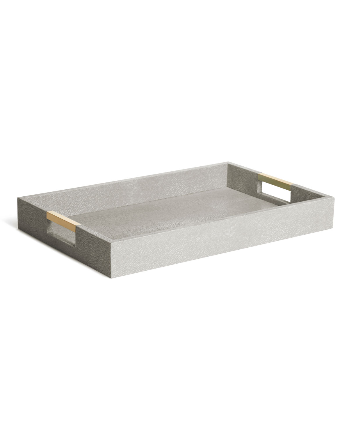 Aerin Home decors MODERN SHAGREEN DESK TRAY