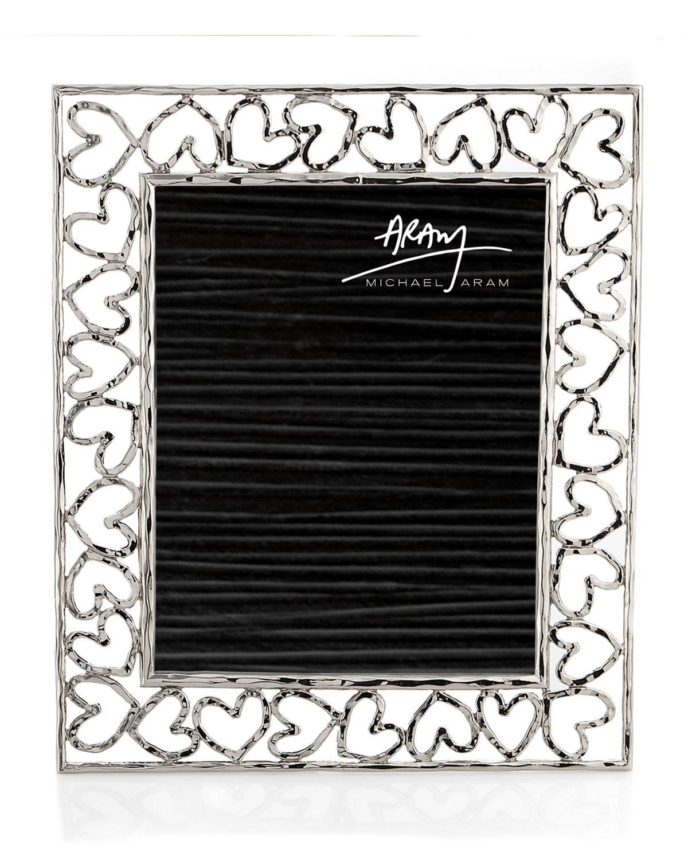 "Michael Aram Picture frames HEART PHOTO FRAME, 8"" X 10"""