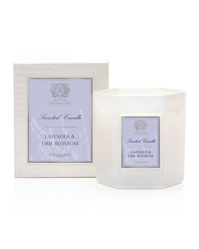 Lavender and Lime Blossom Candle, 9 oz. / 255g