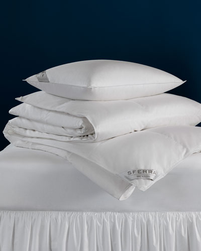 600-Fill European Down Medium Queen Pillow
