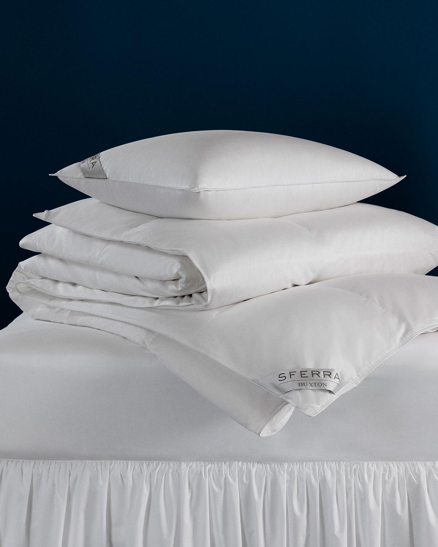 Sferra Pillows 600-FILL EUROPEAN DOWN SOFT STANDARD PILLOW