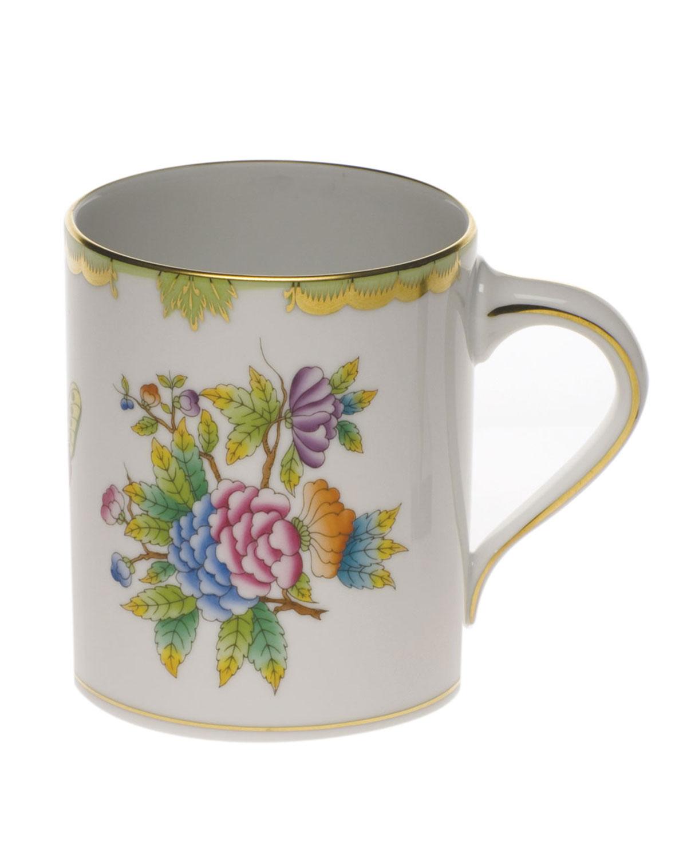 Herend Drinkwares QUEEN VICTORIA COFFEE MUG