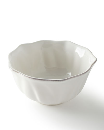 Madeleine Whitewash Cereal/Ice Cream Bowl