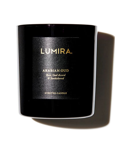 Lumira Arabian Oud Scented Candle, 300g