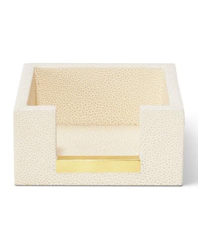 AERIN Shagreen Memo Paper Holder
